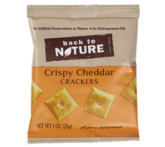 Back to Nature Crispy Cheddar Crackers